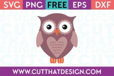 Free SVG Owl Cutting File Download