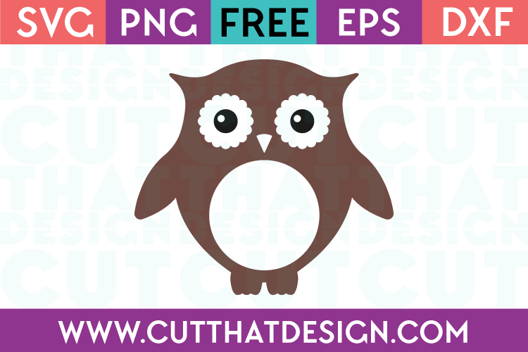 Owl Monogram SVG Free Cutting Files