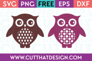 Owl SVG Cutting Files