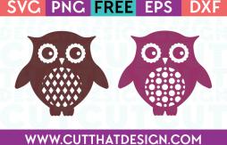 Owl SVG Cutting Files