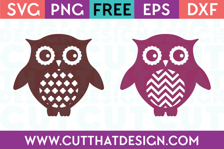 Owl Designs SVG