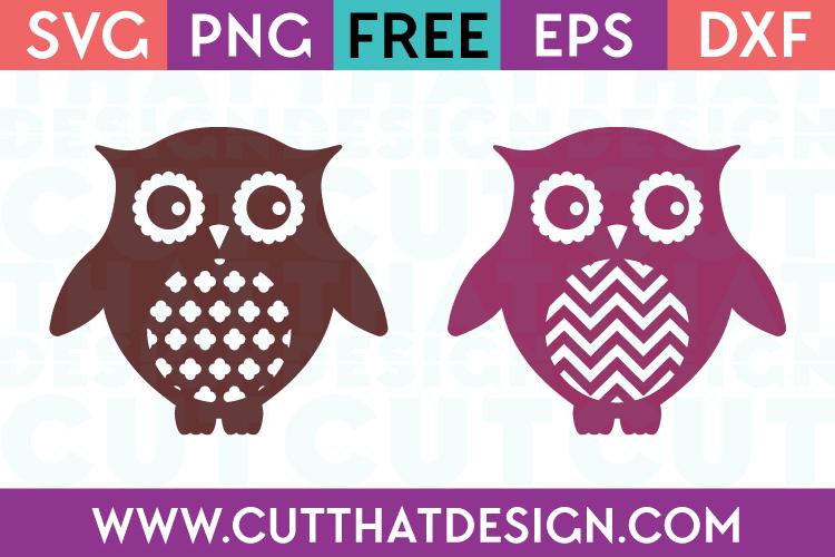 Free Svg Files Patterned Owl Designs Set 4 Cut That Design