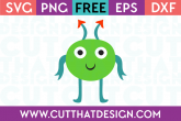 Free Alien SVG File