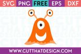Alien SVG Cuts Free