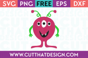 Alien SVG Cut Files for Download