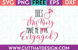 Engaged SVG Cutting Files