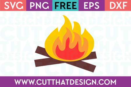 Free Camp Fire SVG