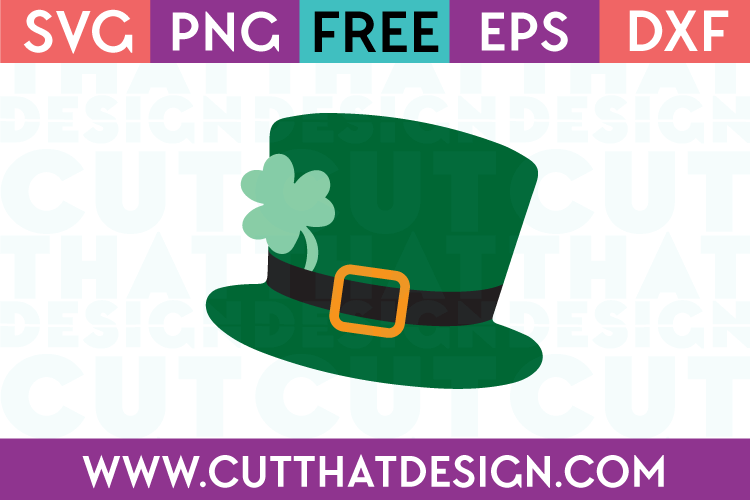 Free St Patrick's Day Hat SVG File