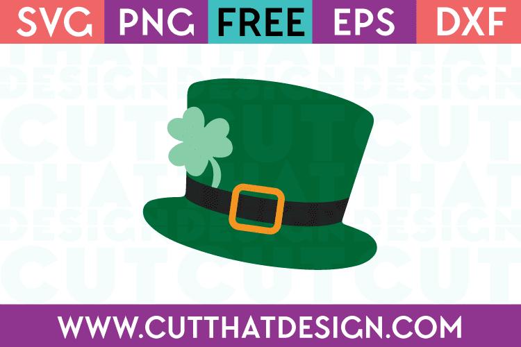 Free St Patrick's Day Hat SVG File