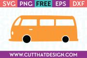 Free Camper Van SVG