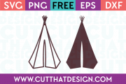 Teepee Camping SVG
