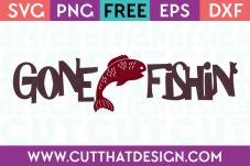 FISH MONOGRAM SVG