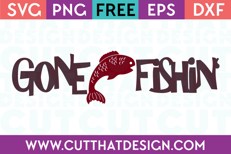 FISH MONOGRAM SVG