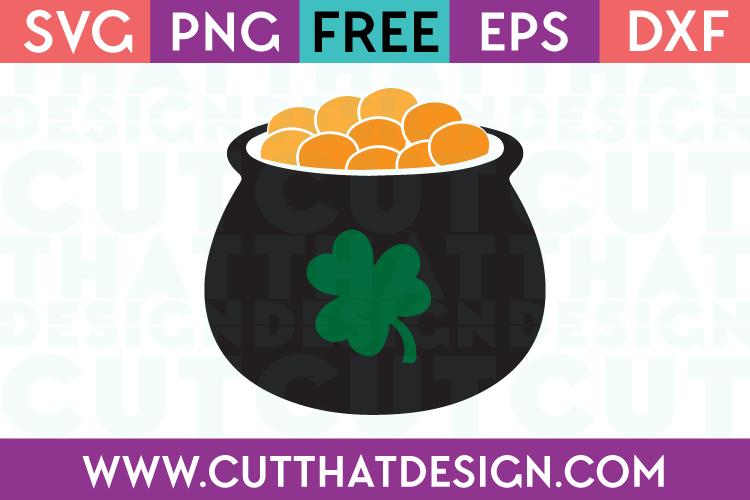 Pot of Gold SVG Free File