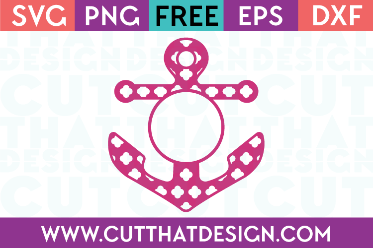 Anchor svg cutting files download