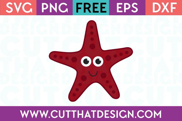 Starfish svg free