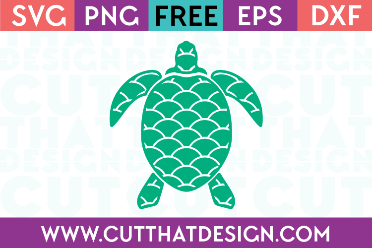 Sea Turtle SVG Free