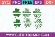 Free Shamrock SVG Cutting Files