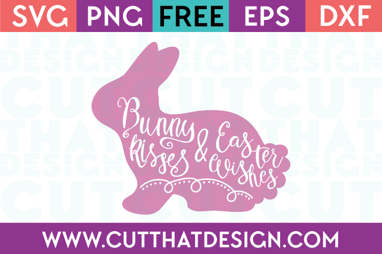 Free Easter Wishes SVG Cutting File