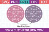 Free Mom SVG Cut Files Silhouette Cameo