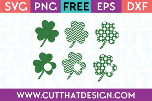 Shamrock SVG Cuts for Free Download
