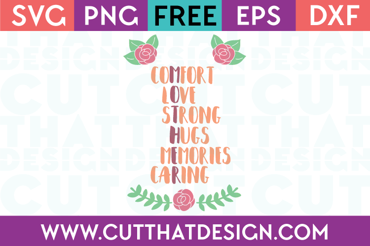 Free SVG Word Art Cricut