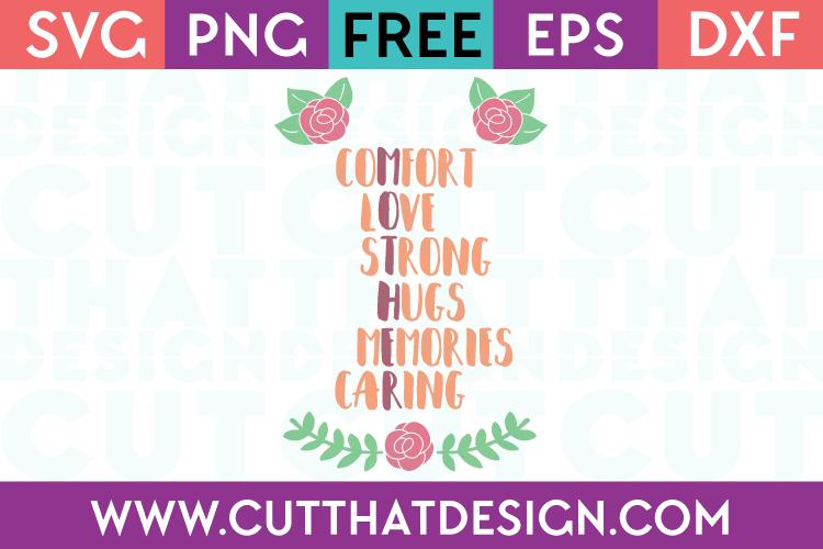 Free SVG Word Art Cricut