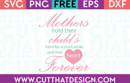 Free Mothers Day SVG Files for Circut