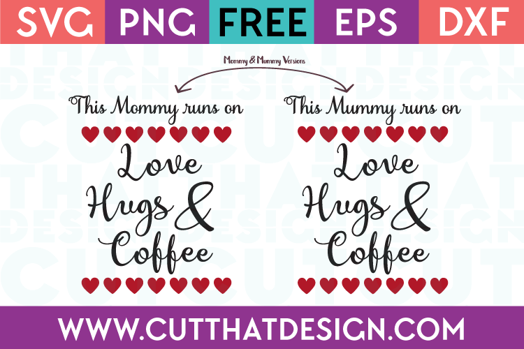 Free Mommy SVG Cutting File
