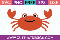 Free Crab SVG Cut File