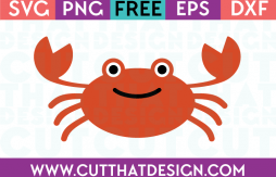 Free Crab SVG Cut File