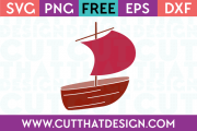 Free Fishing Boat SVG