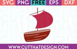 Free Fishing Boat SVG