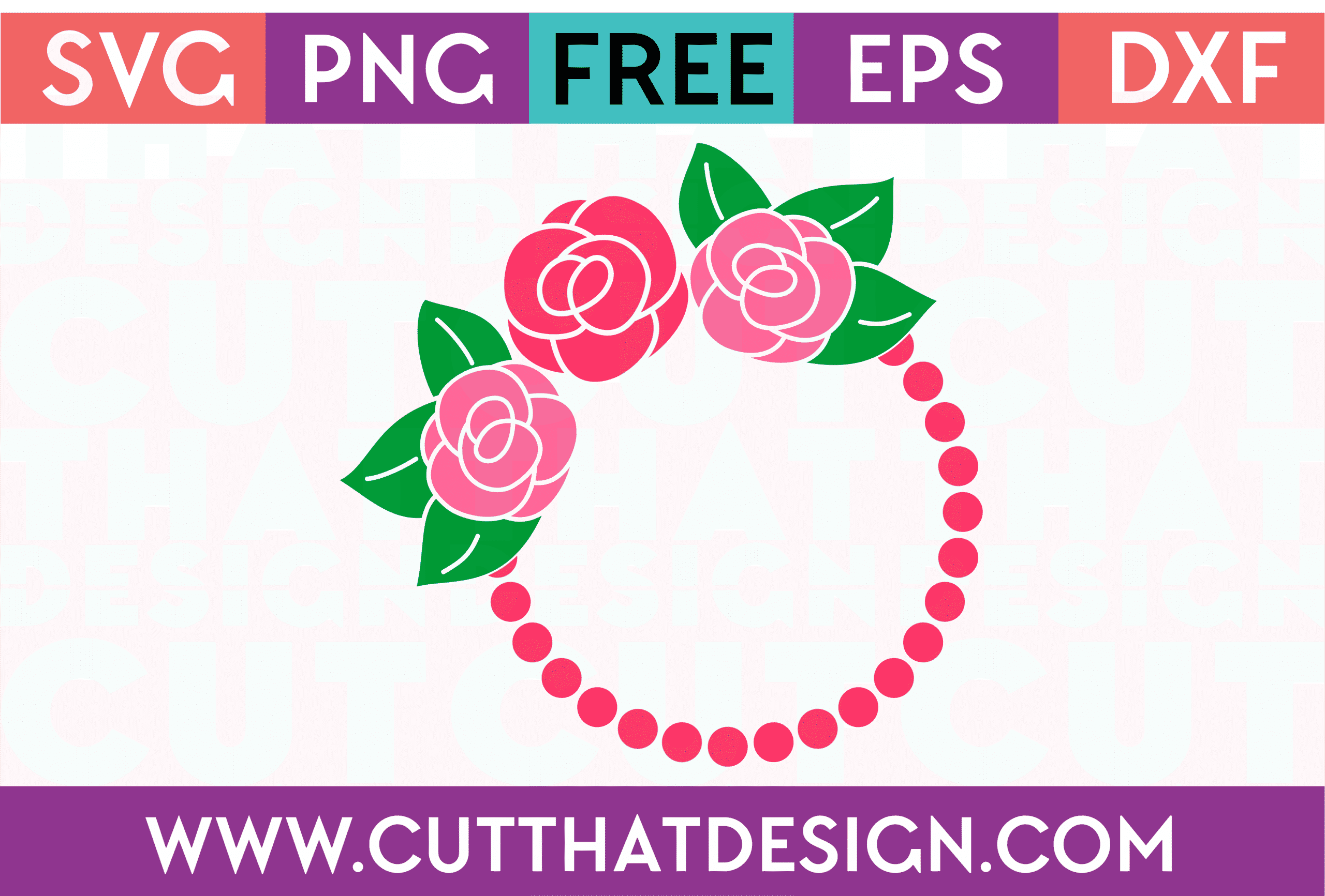 Free SVG Circle Frames for Silhouette Cameo