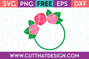 Free Cut Files for Cricut Circle Frames