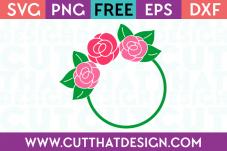 Free Cut Files for Cricut Circle Frames
