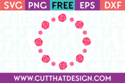 Free SVG Cutting Circle Frames