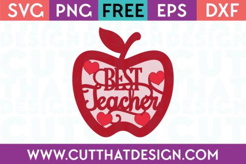 Free teacher svg