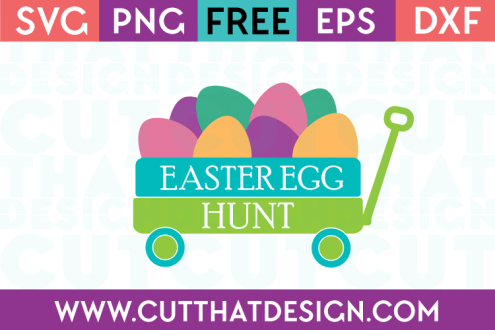 Free Easter Egg Hunt SVG