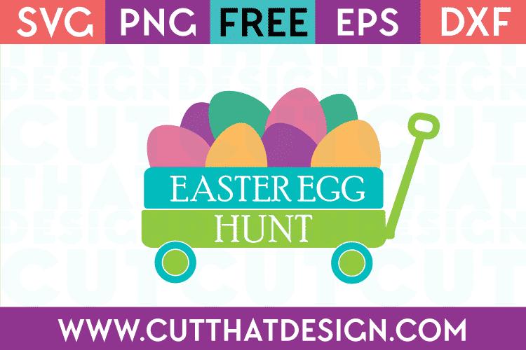 Free Easter Egg Hunt SVG