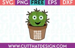 Free SVG File - Cactus in a Pot
