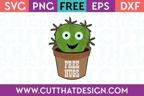 Free SVG File - Cactus in a Pot