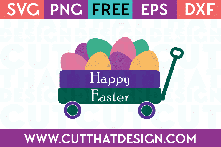 Free Happy Easter Cut File