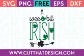 St Patrick's Day SVG Cutting Files