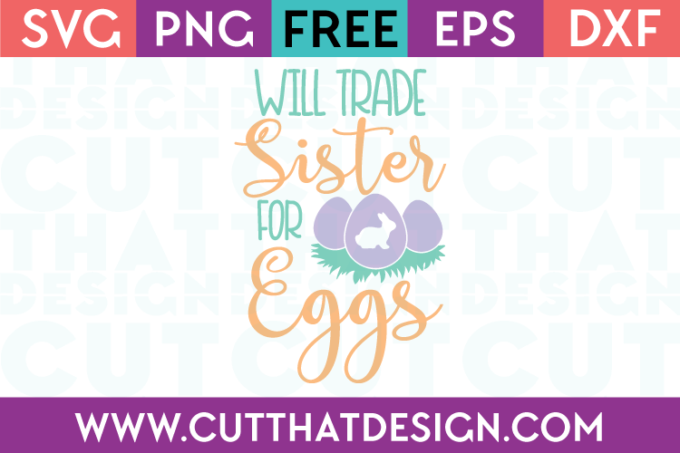 SVG Files for Easter Free