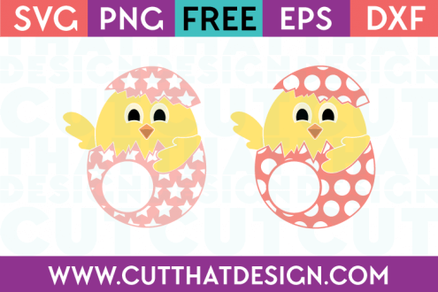 Free Easter Chicks SVG