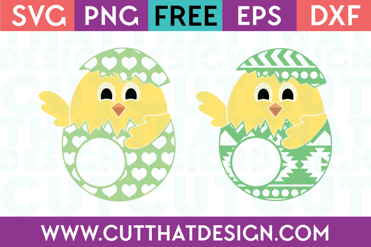 Easter Chicks SVG Free