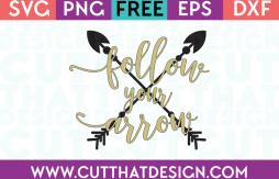 SVG Free Follow your Arrow
