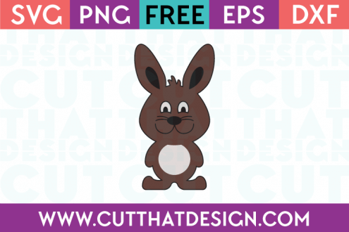 Free Easter Bunny SVG File