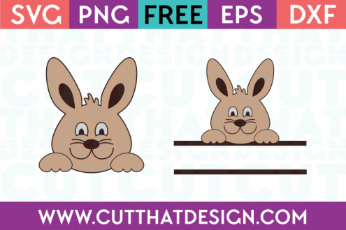 Free SVG Cutting Files Site Easter Bunny